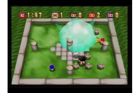 N64 Bomberman Multiplayer - YouTube