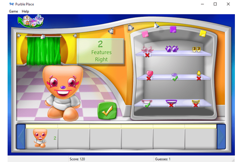 play Purble Shop Purble Place game on Windows 10 | Games ...