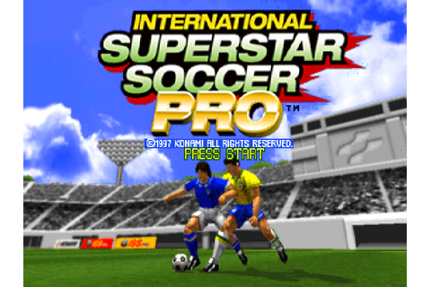 VGJUNK: INTERNATIONAL SUPERSTAR SOCCER PRO (PS1)