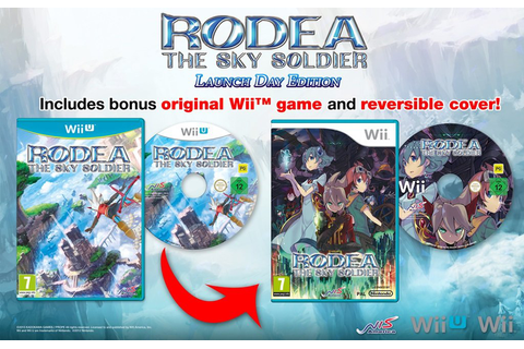 Rodea the Sky Soldier - Limited Edition (Wii U) | Nintendo ...
