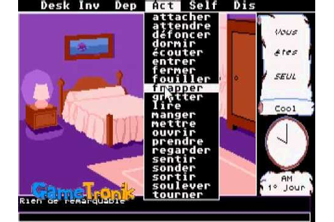 Le manoir de Mortevielle - Atari St - YouTube