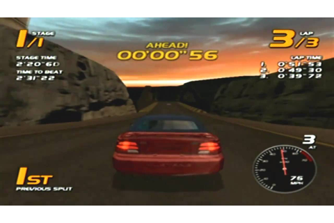 Vanishing Point Game Sample - Dreamcast - YouTube