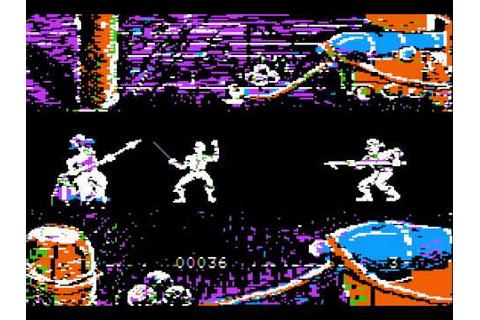 Apple II Game: Swashbuckler (1981 Datamost) - YouTube