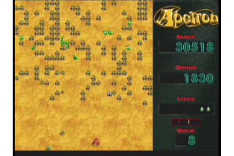 Apeiron 1.0.2 - old Macintosh game - YouTube