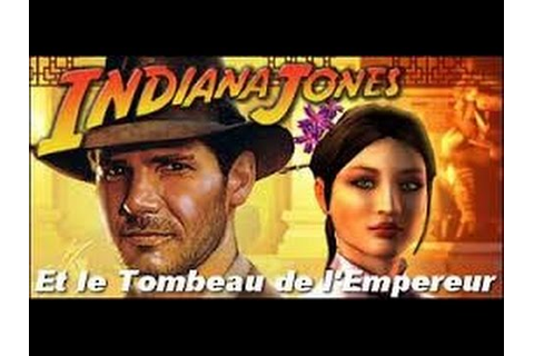 INDIANA JONES et Le Tombeau De L'Empereur Film Game ...