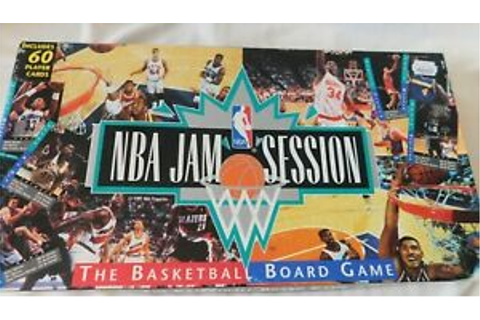 NBA Jam Session The Basketball Board Game 1992 Complete ...
