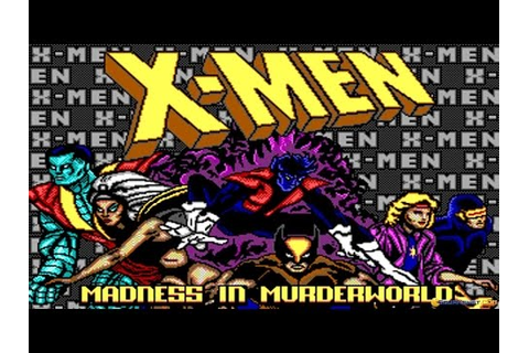 X-Men: Madness in The Murderworld gameplay (PC Game, 1989 ...