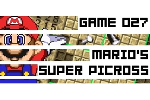 Boxed Pixels: Snes Review : Mario No Picross (Game 027)