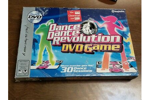 Dance Dance Revolution DVD Game 2006 DDR BRAND NEW SEALED ...