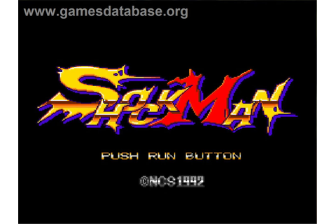 Shockman - NEC TurboGrafx-16 - Games Database