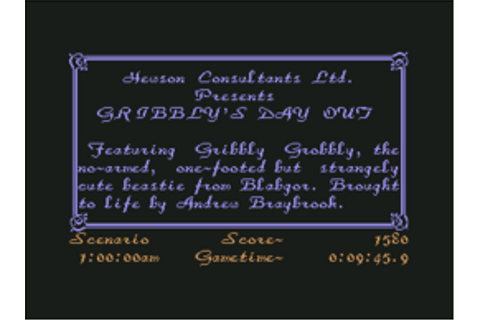 Gribbly's Day Out - C64-Wiki