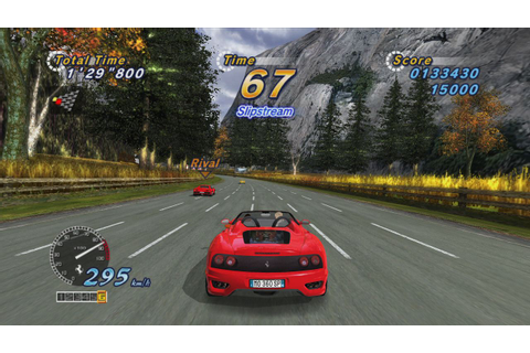 OutRun Online Arcade PS3 Review | GameGrin Game Reviews ...