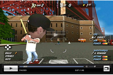 MLB Stickball Review - IGN