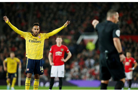 Manchester United 1-1 Arsenal: Aubameyang cancels out ...