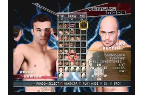 UFC Sudden Impact ps2 - YouTube