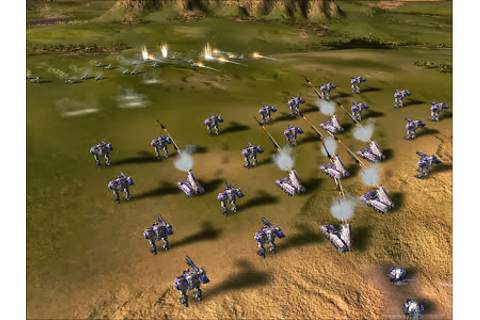 Download Supreme Commander Forged Alliance ~ Free Download ...