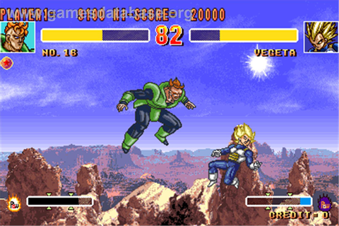 Dragonball Z 2 - Super Battle - Arcade - Games Database