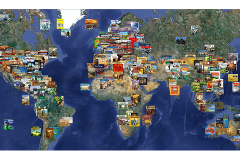World Map of Board Games | BoardGameGeek