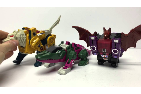 G1 Headmasters Skullcruncher Transformers Review - YouTube