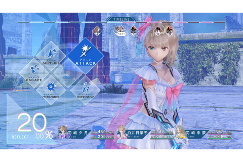 Role-Playing Game Blue Reflection Launching On PC ...