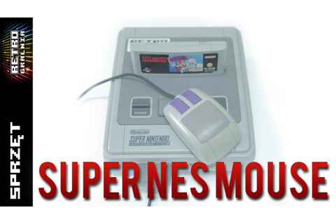 ? Super NES Mouse – Mysz do konsoli SNES/Super Famicom ...