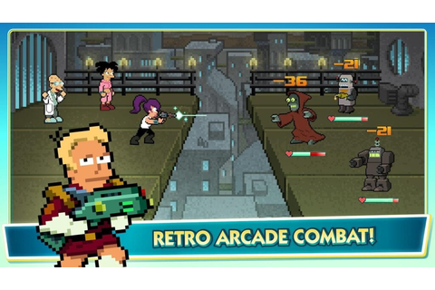 Play as Fry, Bender, Leela, and More in Free Futurama Game ...