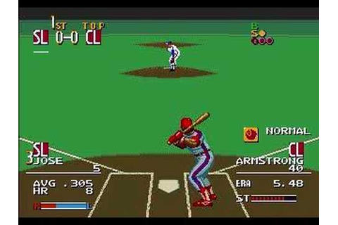 MLBPA Sports Talk Baseball (Sega Genesis) - YouTube