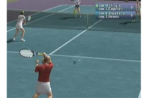 Screens: Pro Tennis WTA Tour - PS2 (13 of 26)