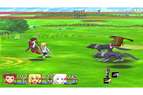 Tales of Symphonia [GC] 1080p Gameplay on Dolphin Emulator ...