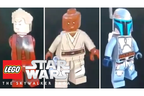 LEGO Star Wars: The Skywalker Saga - New Characters And ...