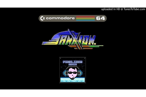 Sanxion - Commodore 64 - Pixelizer REMIX - YouTube
