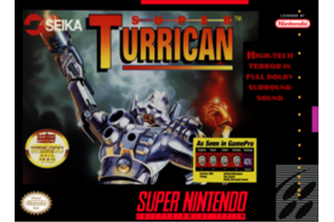 Super Turrican (SNES video game) - Wikipedia