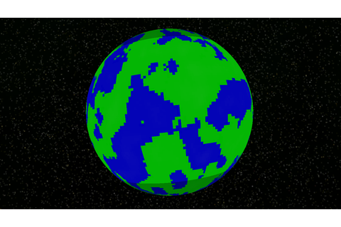 xna - Generating spherical world from heightmapped terrain ...