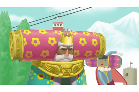We Love Katamari - The King's cutscenes - YouTube