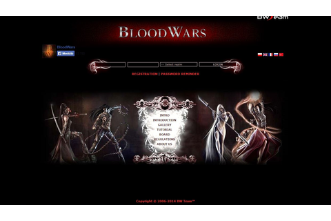 Blood Wars - Text based vampire game