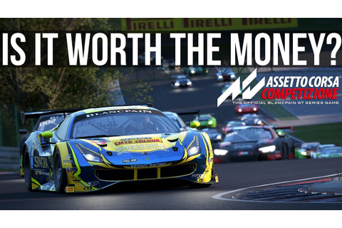 Is Assetto Corsa Competizione Worth The Money? - YouTube