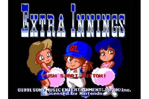 Extra Innings (SNES) - YouTube