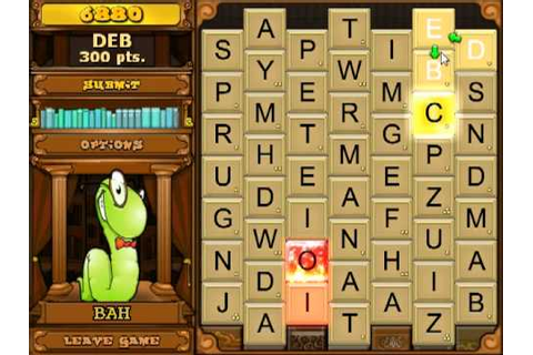 Bookworm Deluxe Game Play - YouTube