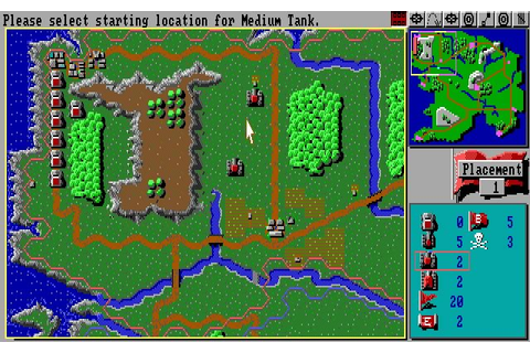 Download The Perfect General strategy for DOS (1991 ...