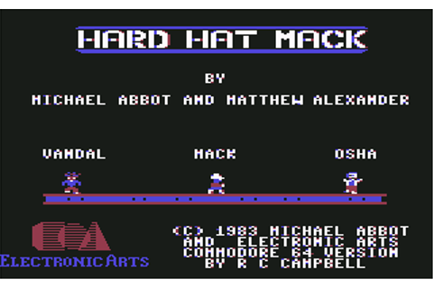 Download Hard Hat Mack - My Abandonware
