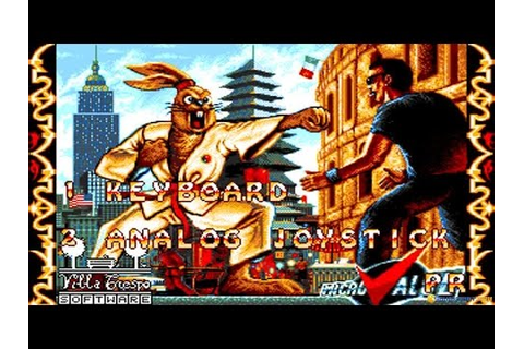International Ninja Rabbits gameplay (PC Game, 1993) - YouTube