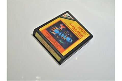 Alpha Beam with Ernie Atari 2600 Video Game System ...