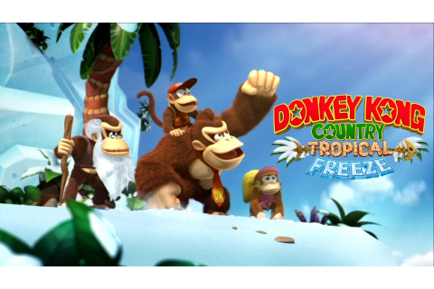 Donkey Kong Country: Tropical Freeze launch trailer ...