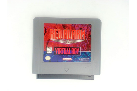 Red Alarm game for Virtual Boy (Loose) | The Game Guy