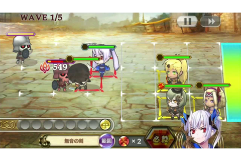 Chain Chronicle JRPG Mini Tactics Gameplay HD - YouTube