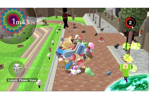 Beautiful Katamari XBOX 360 gameplay HD - YouTube