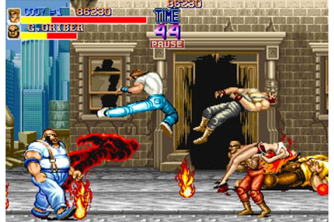 Final Fight, original arcade version. One of the best old ...