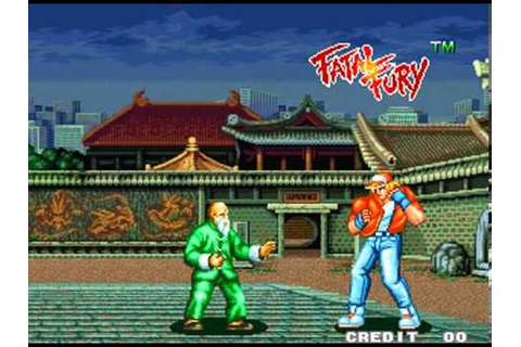 Fatal Fury: King of Fighters (1991, SNK) [Neo Geo - Demo ...