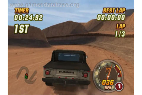 Hummer: Badlands - Sony Playstation 2 - Games Database