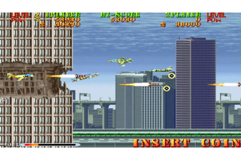 Carrier Air Wing Mission 2 1990 Capcom Mame Retro Arcade ...
